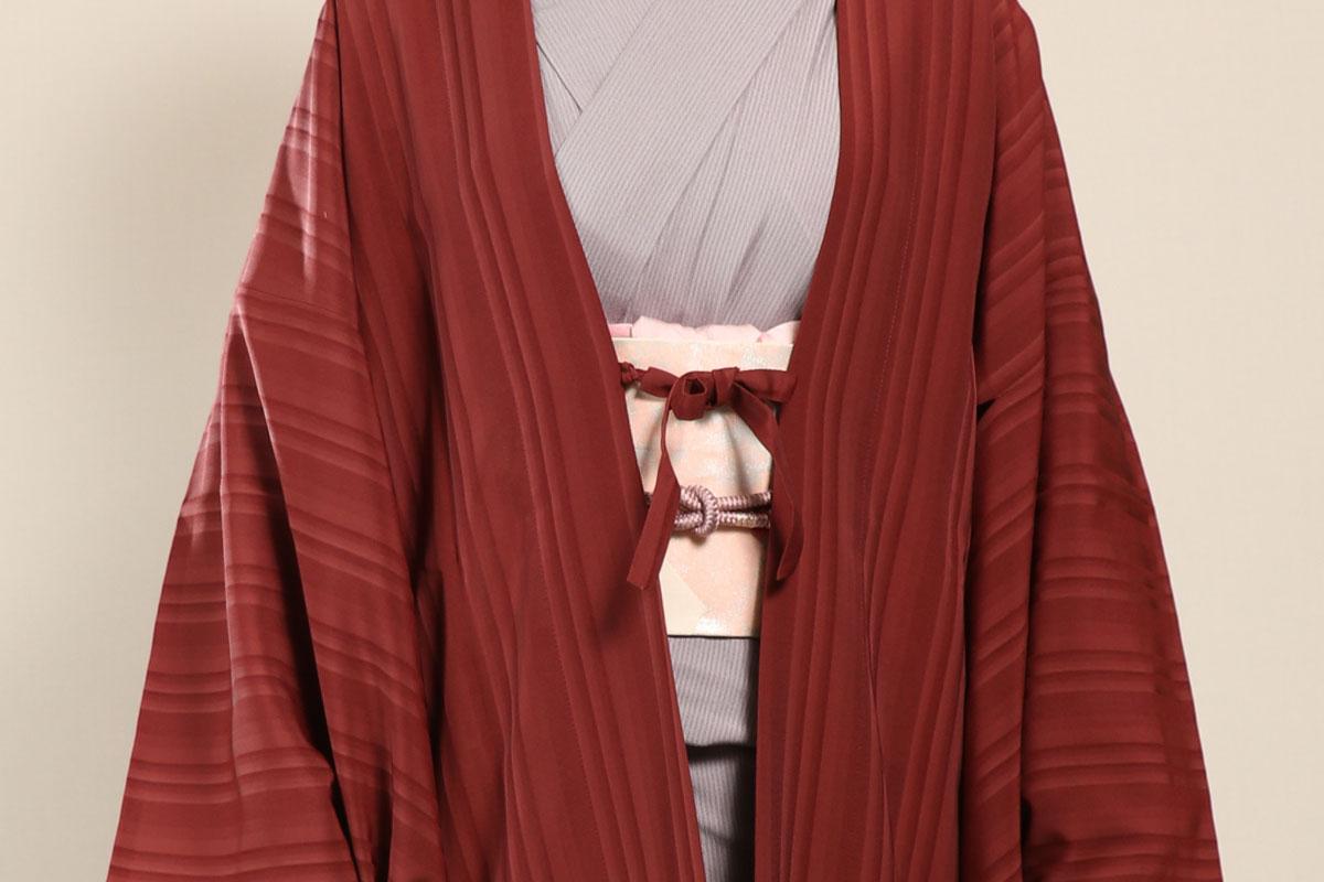 羽織コート米沢空羽織の帯